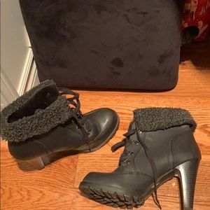 fergalicious black booties